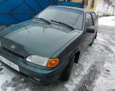 Зеленый ВАЗ 2113, объемом двигателя 1.6 л и пробегом 109 тыс. км за 3250 $, фото 1 на Automoto.ua