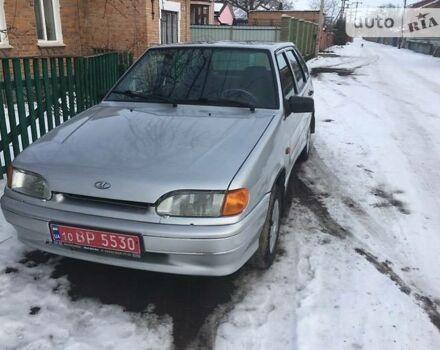 Серебряный ВАЗ 2114, объемом двигателя 1.6 л и пробегом 100 тыс. км за 3200 $, фото 1 на Automoto.ua