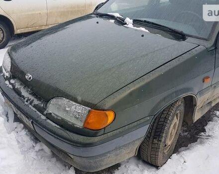 Зелений ВАЗ 2115, об'ємом двигуна 1.5 л та пробігом 130 тис. км за 2700 $, фото 1 на Automoto.ua