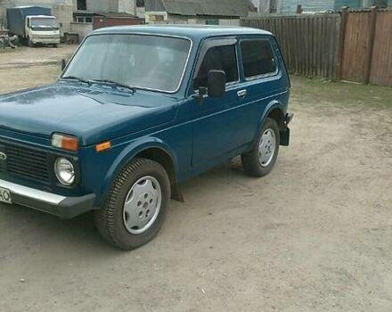 Синий ВАЗ 2121, объемом двигателя 1.7 л и пробегом 140 тыс. км за 3100 $, фото 1 на Automoto.ua