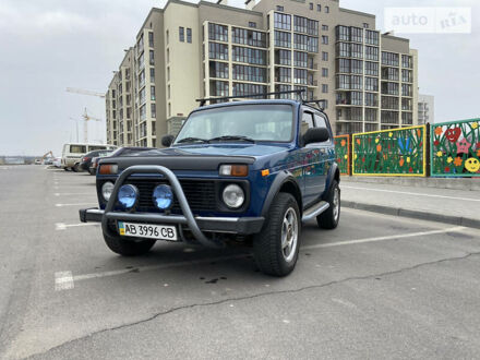 Синий ВАЗ 21214, объемом двигателя 1.7 л и пробегом 59 тыс. км за 6600 $, фото 1 на Automoto.ua