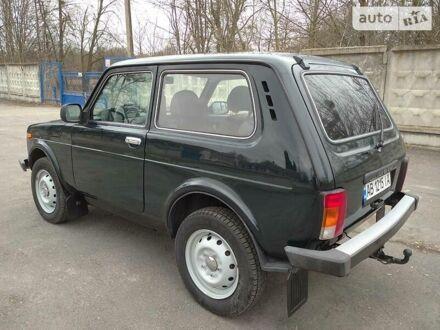 Зеленый ВАЗ 21214, объемом двигателя 1.7 л и пробегом 48 тыс. км за 6800 $, фото 1 на Automoto.ua