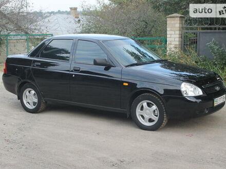 Черный ВАЗ 2170, объемом двигателя 1.6 л и пробегом 111 тыс. км за 4100 $, фото 1 на Automoto.ua