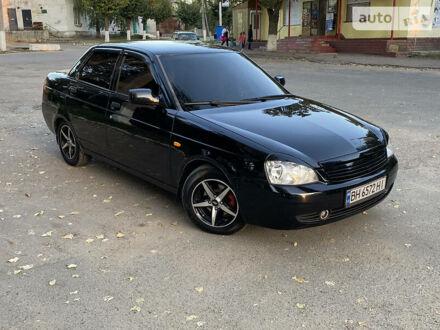 Черный ВАЗ 2170, объемом двигателя 1.6 л и пробегом 127 тыс. км за 5100 $, фото 1 на Automoto.ua