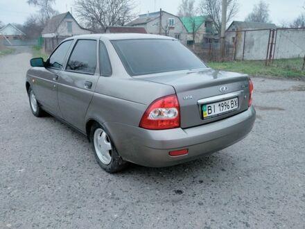 Серый ВАЗ 2170, объемом двигателя 1.6 л и пробегом 226 тыс. км за 3800 $, фото 1 на Automoto.ua