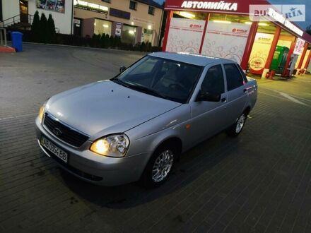 Серый ВАЗ 2170, объемом двигателя 1.6 л и пробегом 120 тыс. км за 4050 $, фото 1 на Automoto.ua