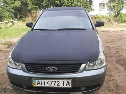 Серый ВАЗ 2170, объемом двигателя 1.6 л и пробегом 168 тыс. км за 3300 $, фото 1 на Automoto.ua
