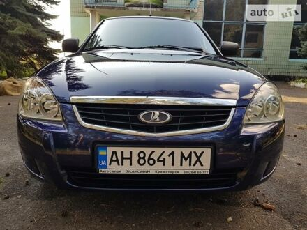 Синий ВАЗ 2170, объемом двигателя 1.6 л и пробегом 58 тыс. км за 5850 $, фото 1 на Automoto.ua