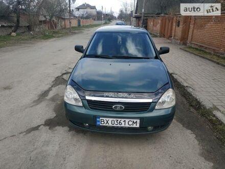 Зеленый ВАЗ 2170, объемом двигателя 1.6 л и пробегом 158 тыс. км за 3500 $, фото 1 на Automoto.ua