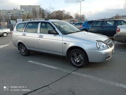 Серый ВАЗ 2171, объемом двигателя 1.6 л и пробегом 176 тыс. км за 4800 $, фото 1 на Automoto.ua