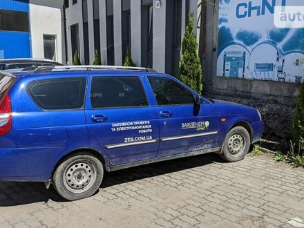 Синий ВАЗ 2171, объемом двигателя 1.6 л и пробегом 200 тыс. км за 3500 $, фото 1 на Automoto.ua