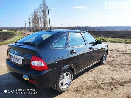 Черный ВАЗ 2172, объемом двигателя 1.6 л и пробегом 190 тыс. км за 3700 $, фото 1 на Automoto.ua