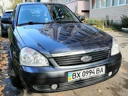 Черный ВАЗ 2172, объемом двигателя 1.6 л и пробегом 75 тыс. км за 3699 $, фото 1 на Automoto.ua