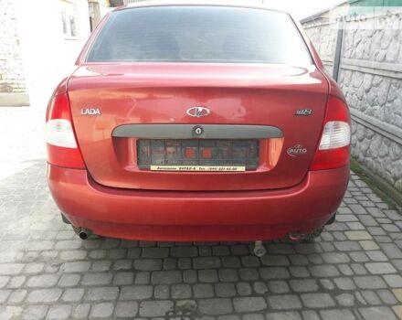 Красный ВАЗ Калина Кросс, объемом двигателя 1.6 л и пробегом 136 тыс. км за 2200 $, фото 1 на Automoto.ua