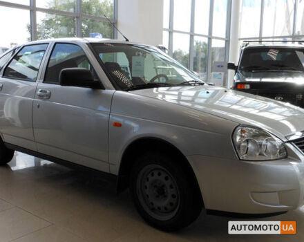 Черный ВАЗ Приора, объемом двигателя 1.6 л и пробегом 1 тыс. км за 3561 $, фото 1 на Automoto.ua