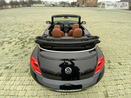 Черный Фольксваген Битл, объемом двигателя 1.8 л и пробегом 28 тыс. км за 16000 $, фото 1 на Automoto.ua