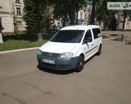 Белый Фольксваген Кадди пасс., объемом двигателя 2 л и пробегом 40 тыс. км за 7100 $, фото 1 на Automoto.ua
