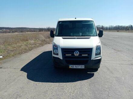 Білий Фольксваген Крафтєр, об'ємом двигуна 2.5 л та пробігом 218 тис. км за 9200 $, фото 1 на Automoto.ua