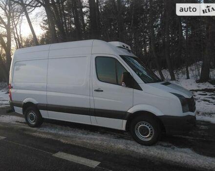 Белый Фольксваген Крафтер груз., объемом двигателя 2 л и пробегом 268 тыс. км за 12500 $, фото 1 на Automoto.ua