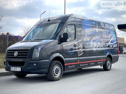 Черный Фольксваген Крафтер груз., объемом двигателя 2 л и пробегом 219 тыс. км за 12999 $, фото 1 на Automoto.ua
