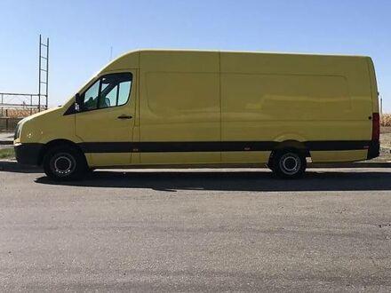 Оранжевый Фольксваген Крафтер груз., объемом двигателя 2 л и пробегом 155 тыс. км за 16500 $, фото 1 на Automoto.ua
