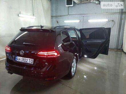 Черный Фольксваген Гольф, объемом двигателя 2 л и пробегом 60 тыс. км за 15000 $, фото 1 на Automoto.ua