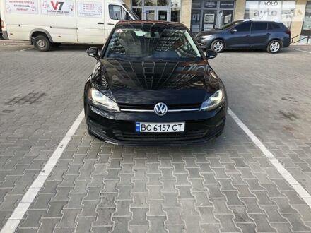 Черный Фольксваген Гольф, объемом двигателя 1.8 л и пробегом 62 тыс. км за 14000 $, фото 1 на Automoto.ua