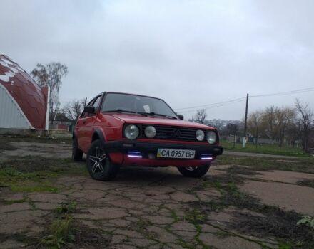 Красный Фольксваген Гольф, объемом двигателя 1.6 л и пробегом 8 тыс. км за 2450 $, фото 1 на Automoto.ua