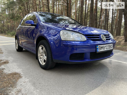 Синий Фольксваген Гольф, объемом двигателя 1.4 л и пробегом 216 тыс. км за 4970 $, фото 1 на Automoto.ua