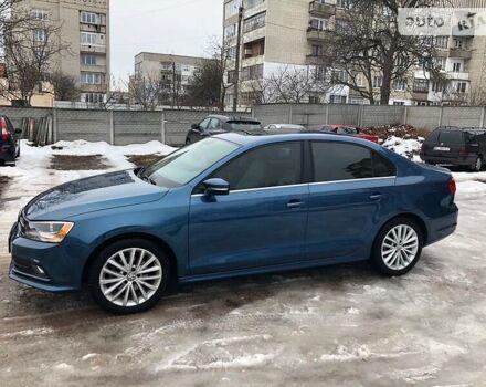 Синий Фольксваген Джетта, объемом двигателя 1.8 л и пробегом 108 тыс. км за 12500 $, фото 1 на Automoto.ua