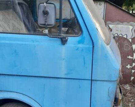 Голубой Фольксваген ЛТ, объемом двигателя 2.4 л и пробегом 1 тыс. км за 1400 $, фото 1 на Automoto.ua