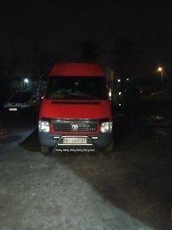 Красный Фольксваген ЛТ, объемом двигателя 2.5 л и пробегом 760 тыс. км за 18000 $, фото 1 на Automoto.ua