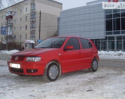 Красный Фольксваген Поло, объемом двигателя 1.4 л и пробегом 190 тыс. км за 5500 $, фото 1 на Automoto.ua