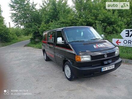 Чорний Фольксваген Т4 (Транспортер) вант., об'ємом двигуна 2.5 л та пробігом 290 тис. км за 6750 $, фото 1 на Automoto.ua