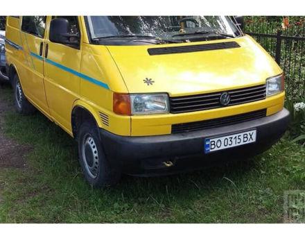 Желтый Фольксваген Т4 (Транспортер), объемом двигателя 1.9 л и пробегом 144 тыс. км за 6300 $, фото 1 на Automoto.ua