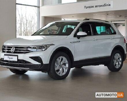 купити нове авто Фольксваген Тігуан 2021 року від офіційного дилера Автоцентр Захід Volkswagen Фольксваген фото