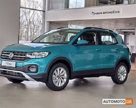 купити нове авто Фольксваген T-Cross 2021 року від офіційного дилера Автоцентр Захід Volkswagen Фольксваген фото