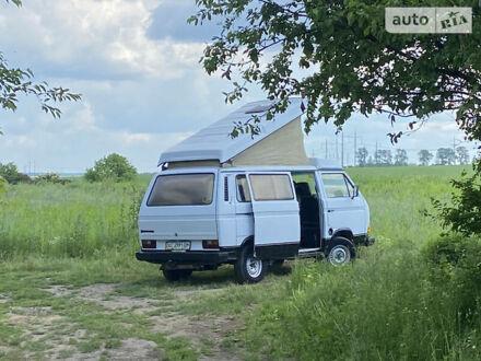 Білий Фольксваген T3 (Transporter) груз., об'ємом двигуна 1.9 л та пробігом 158 тис. км за 7599 $, фото 1 на Automoto.ua