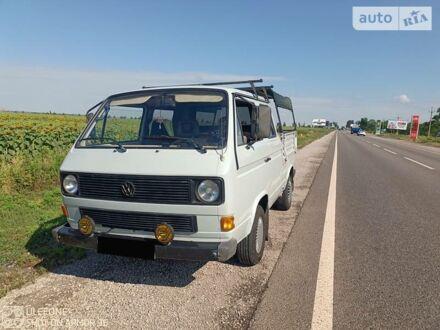 Сірий Фольксваген T3 (Transporter) груз-пасс., об'ємом двигуна 1.6 л та пробігом 379 тис. км за 3999 $, фото 1 на Automoto.ua