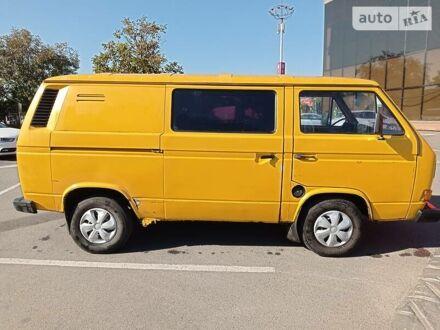 Жовтий Фольксваген T3 (Transporter) груз., об'ємом двигуна 0.11 л та пробігом 111 тис. км за 3500 $, фото 1 на Automoto.ua