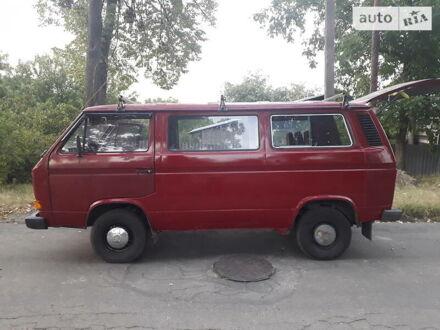 Червоний Фольксваген T3 (Transporter) пасс., об'ємом двигуна 1.6 л та пробігом 390 тис. км за 3850 $, фото 1 на Automoto.ua