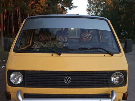 Желтый Фольксваген T3 (Transporter) пасс., объемом двигателя 2 л и пробегом 100 тыс. км за 3100 $, фото 1 на Automoto.ua