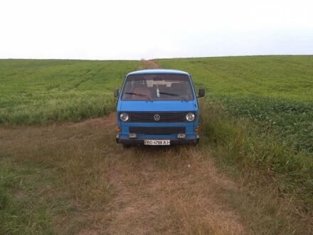 Синій Фольксваген T3 (Transporter) пасс., об'ємом двигуна 1.9 л та пробігом 120 тис. км за 2750 $, фото 1 на Automoto.ua