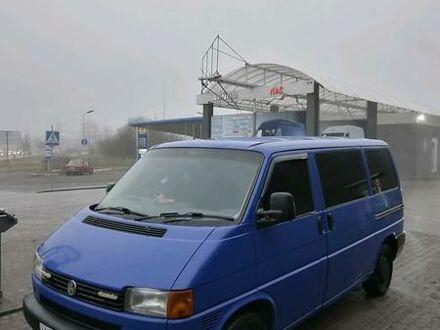 Синій Фольксваген T3 (Transporter) пасс., об'ємом двигуна 2.5 л та пробігом 480 тис. км за 6800 $, фото 1 на Automoto.ua