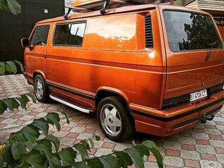 Оранжевый Фольксваген T3 (Transporter) пасс., объемом двигателя 2.8 л и пробегом 282 тыс. км за 15000 $, фото 1 на Automoto.ua