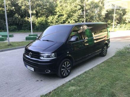 Чорний Фольксваген T5 (Transporter) груз-пасс., об'ємом двигуна 2 л та пробігом 203 тис. км за 15800 $, фото 1 на Automoto.ua
