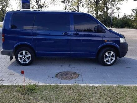 Синій Фольксваген T5 (Transporter) груз-пасс., об'ємом двигуна 1.9 л та пробігом 460 тис. км за 7700 $, фото 1 на Automoto.ua
