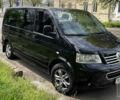 Черный Фольксваген Transporter, объемом двигателя 2.5 л и пробегом 270 тыс. км за 14000 $, фото 1 на Automoto.ua