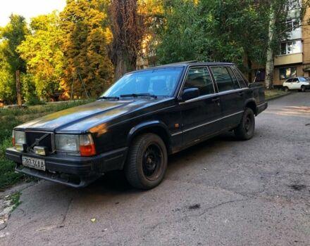 Черный Вольво 740, объемом двигателя 2.5 л и пробегом 1 тыс. км за 2000 $, фото 1 на Automoto.ua