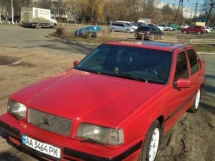 Красный Вольво 850, объемом двигателя 2.5 л и пробегом 350 тыс. км за 3000 $, фото 1 на Automoto.ua